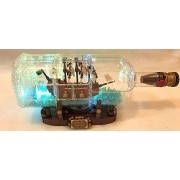 Brickled Lighting Kit For Lego Ideas Ship In A Bottle 21313 ( Set Not Included)