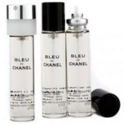 Chanel Bleu de Chanel Twist & Spray Refill Pánská dárková sada