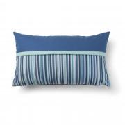 Kave Home Capa de almofada Blu azul e , en Tecido - Azul
