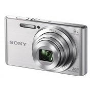 Sony Cyber-shot DSC-W830 - Digitale camera - compact - 20.1 MP - 720p - 8x optische zoom - zilver