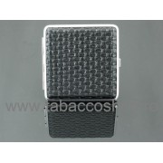 Tabachera metalica Optical Wave Black