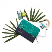 STM Grace Sleeve - дизайнерски неопренов калъф за MacBook Pro 15 и лаптопи до 15 инча (син-зелен)