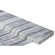 """Baumwollstoff-Digitaldruck """"Holzwand Ria"""", grau"""