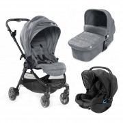 Baby Jogger carucior 3 in 1 City Tour Lux 0m+ Slate