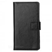 Funda protectora con ranuras de tarjeta y soporte para Sony xperia Z5 mini - negro