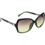 Ted Smith Cat-eye Sunglasses(Green)