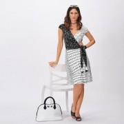 cavalli CLASS Koffer-Kleid, 40 - Schwarz/Weiß
