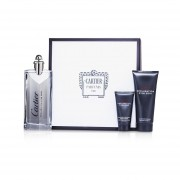 Cartier Declaration D'un Soir Coffret: Eau De Toilette Spray 100ml/3.3oz + Shower Gel 100ml/3.3oz + After Shave Emulsion 30ml/1oz 3pcs
