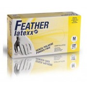 Reflexx Guanti In Lattice Monouso Taglia M Bianchi 5 Gr Feather Latexx Conf. 100 Pz