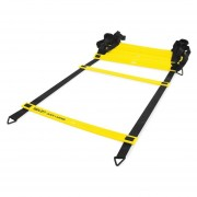 Escalera De Agilidad Quick Ladder SKLZ-Amarillo Con Negro.