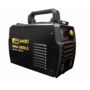 Pachet invertor MMA ProWeld MMA-200DLS + masca sudura cu cristale lichide Intensiv SPARTAN 11