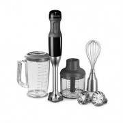 kitchenaid Mixeur plongeant 5 vitesses pied inox 180 W noir 5KHB2571EOB kitchenaid