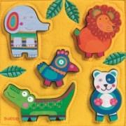 Puzzle Djeco lemn şi fetru Junga