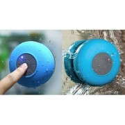SCORIA Bluetooth Shower Speaker With Mic Wireless Stereo Shower Speakers Portable Waterproof Bluetooth Wireless Stereo Shower Speakers And Rechargeable Multi-Color Bluetooth Speaker With LED Wireless Speaker with Light Support TF Card and Aux with MIC an