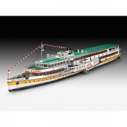 Revell gift set rheindampfer/paddle steamer goethe