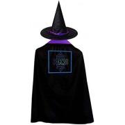 CONNOR LEONARD Rainbow Kitten Surprise Logo Christmas Halloween Child Wizard Witch Cloak Cloak and Hat Red