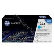 Тонер HP 124A за 1600/2600, Cyan (2K), p/n Q6001A - Оригинален HP консуматив - тонер касета