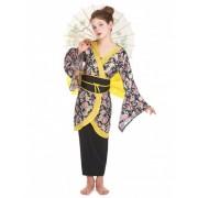 Disfarce de japonesa para menina