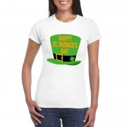 Bellatio Decorations Happy St. Patricksday t-shirt wit dames