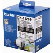 Етикети Brother DK-11209 Small Address Paper Labels, 29mmx62mm, 800 labels per roll, (Black on White) - DK11209