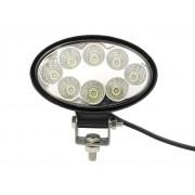 Superlight 27W 12V / 24V přídavné pracovní couvací světlo ovál