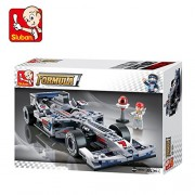 Sluban Silver Arrows Racing Car-257 Pcs ( M38-B0352 ) (Lego Compatible)