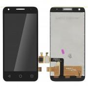 Clappio Repuesto Pantalla LCD/Táctil Negra para Alcatel One Touch Pixi 3 (4.5)