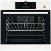 AEG BEB351010W Single Built In Electric Oven - White