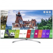 Televizor Smart LED LG 139 cm Ultra HD 55SJ810V, WiFi, USB, CI+, Silver