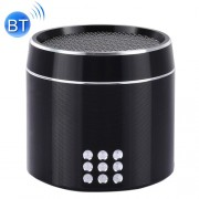Portable True Wireless Stereo Mini Bluetooth Speaker with LED Indicator & Sling for iPhone Samsung HTC Sony and other Smartphones (Black)