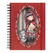 Spirál Napló - Gorjuss - Little Red Riding Hood