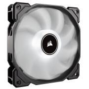 Вентилатор за кутия Corsair AF120 LED Low Noise Cooling Fan, 120mm x 25mm, Single Pack, White