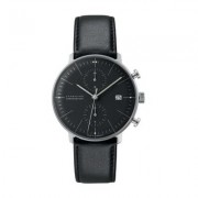 Junghans - Max Bill Chronoscope Ref. 027/4601.00 steel mechanical automatic chronograph wristwatch - Silver/Black