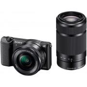 Sony A5100 + 16-50mm + 55-210mm - Zwart