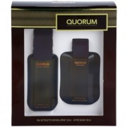 Antonio Puig Quorum lote de regalo I. eau de toilette 100 ml + loción after shave 100 ml