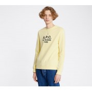 A.P.C. Rufus Crewneck Pale Yellow