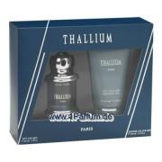 Paris Bleu Thallium - Set für Herren, Eau de Toilette, Duschgel
