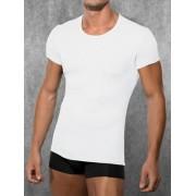 Doreanse Мужская белая футболка Doreanse Ribbed Modal Collection 2545c02