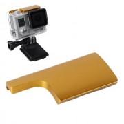 Maxy Back Door Clip In Alluminio Per Chiusura Case Per Gopro Hd Hero 3 Plus - 4 Gold