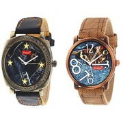 New Evelyn wrist watch for men combo-EVE-406-408
