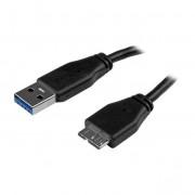 StarTech Dunne USB 3.0 A naar Micro B kabel 50cm