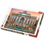 Trefl Puzzle Slagalica Fontanna di Trevi Roma 500 kom (37292)