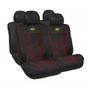 Husa scaun auto cu tetiera MOMO, piele ecologica+suede, 1 buc