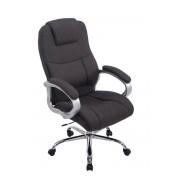 CLP Sedia da ufficio XL Apoll in Tessuto, grigio scuro , grigio scuro, altezza seduta