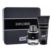 Montblanc Explorer set cadou apa de parfum 60 ml + balsam dupa ras 100 ml pentru bărbați