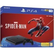 Consola Sony PlayStation 4 Slim 1TB + Spider-Man (Negru)
