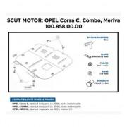 Scut Motor Metalic Asam Opel Corsa C Combo Meriva