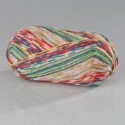 Opal Pullover- und Sockenwolle, 4-fädig, in Variation nach Hundertwasser-Werken, Winterbild Polyp Wintergeist - Werk 625