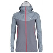 Salewa Agner PTX 3L - giacca hardshell con cappuccio - donna - Light Grey