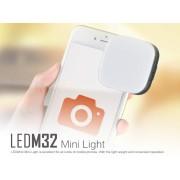 GODOX Lâmpada de LED M32 para Smartphone